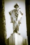 Estatua de Juraj Janosik - salteador del slovak Imagen de archivo libre de regalías