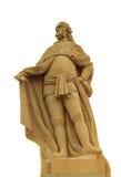 Estatua de Karl Teodor, puente viejo en Heidelberg Imagenes de archivo
