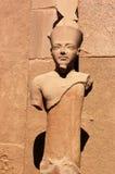 Estatua de Karnak Imagen de archivo libre de regalías