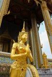 Estatua de Kinnaree Imágenes de archivo libres de regalías