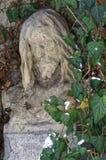 Estatua de la cabeza de Jesus Christ Imagen de archivo