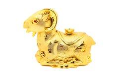 Estatua de la cabra por el Año Nuevo chino 2015 Imagen de archivo libre de regalías
