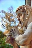 Estatua de la cacerola fotos de archivo libres de regalías