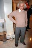Estatua de la cera de Albert Einstein Foto de archivo libre de regalías