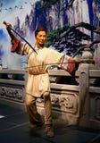 Estatua de la cera del yeoh de Michelle, en la exhibición en los tussauds de la señora en Hong-Kong fotos de archivo libres de regalías