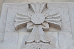 Estatua de la cruz Imagenes de archivo