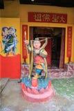 Estatua de la deidad del Na-zha del Ne Zha Imagenes de archivo