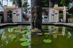 Estatua de la diosa imagen de archivo