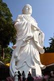 Estatua de la diosa de Guanyin Imágenes de archivo libres de regalías