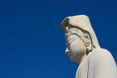 Estatua de la diosa de Kannon Imagen de archivo