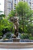 Estatua de la diosa de Sun Foto de archivo