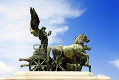 Estatua de la diosa de Victoria Imágenes de archivo libres de regalías