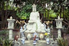 Estatua de la diosa en Thanh Chuong Viet Palace Fotos de archivo libres de regalías