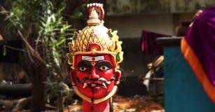Estatua de la diosa hindú Imagen de archivo