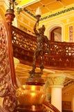 Estatua de la entrada del estilo del vintage del palacio de Bangalore foto de archivo libre de regalías