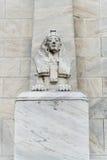 Estatua de la esfinge de Egipto Imagen de archivo