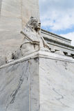 Estatua de la esfinge de Egipto imagen de archivo libre de regalías