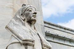 Estatua de la esfinge de Egipto imagenes de archivo