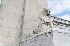 Estatua de la esfinge de Egipto Fotografía de archivo