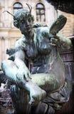 Estatua de la fuente de Hygieia-Brunnen Fotografía de archivo libre de regalías