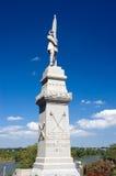 Estatua de la guerra civil imagen de archivo