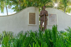 Estatua de la guerra civil - Lee County Florida Fotografía de archivo