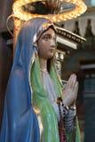 Estatua de la iglesia Fotos de archivo libres de regalías