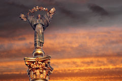 Estatua de la independencia Imagen de archivo