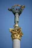 Estatua de la independencia de Ucrania Foto de archivo
