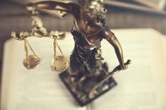 Estatua de la justicia fotos de archivo libres de regalías