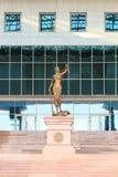 Estatua de la justicia Astana, Kazakhstan imagen de archivo libre de regalías