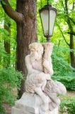 Estatua de la lámpara Fotografía de archivo