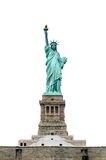 Estatua de la libertad aislada Imagen de archivo libre de regalías