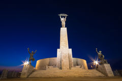 Estatua de la libertad en Budapest Fotos de archivo libres de regalías