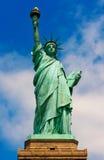 Estatua de la libertad en Nueva York imagenes de archivo