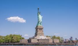 Estatua de la libertad histórica en New York City, los E.E.U.U. fotografía de archivo libre de regalías