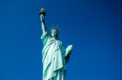 Estatua de la libertad, New York City, los E.E.U.U. Fotografía de archivo