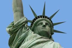 Estatua de la libertad y del brazo Fotografía de archivo libre de regalías