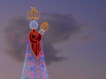 Estatua de la luz Imágenes de archivo libres de regalías