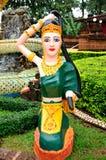 Estatua de la madre de tierra Imagen de archivo libre de regalías