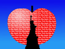 Estatua de la manzana grande de la libertad Fotografía de archivo