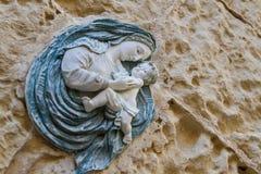 Estatua de la maternidad Fotografía de archivo