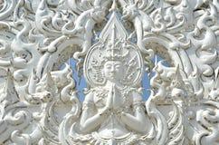 Estatua de la meditación del ángel Foto de archivo