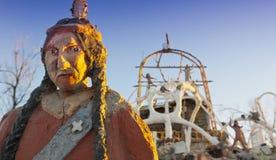 Estatua de la montaña del trueno foto de archivo