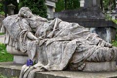 Estatua de la mujer Imágenes de archivo libres de regalías