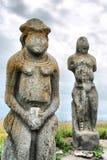 Estatua de la mujer de Scythian Imagen de archivo libre de regalías