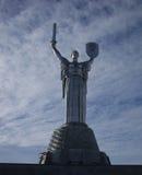 Estatua de la patria Foto de archivo libre de regalías