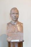Estatua de la persona famosa Foto de archivo