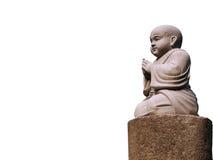 Estatua de la piedra de Jizo Foto de archivo libre de regalías