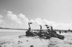 Estatua de la princesa de Mandalika Fotografía de archivo